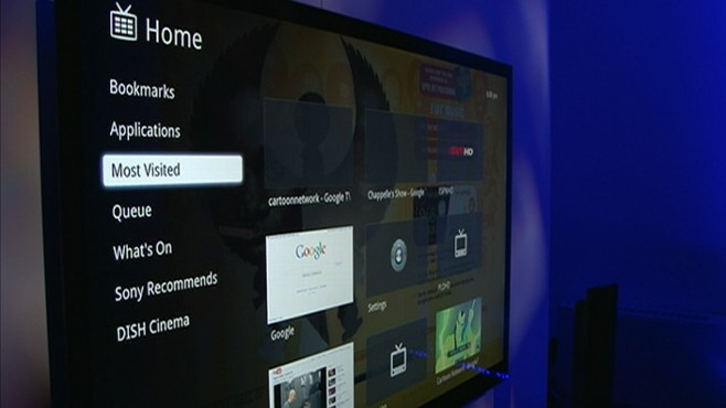 Sony 3D TV and Google