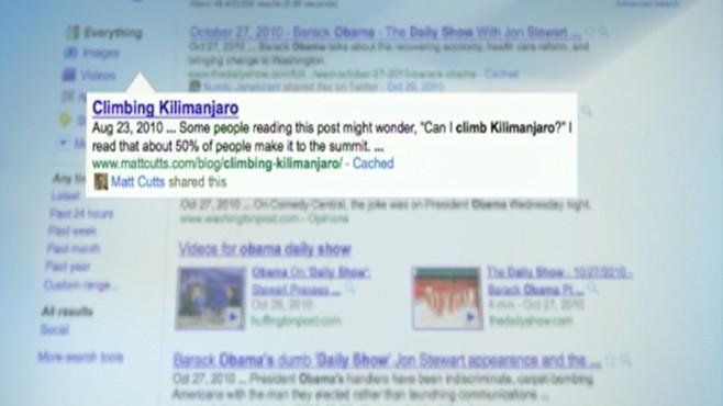 Googles Social Search