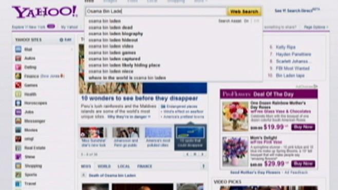 Osama Bin Laden Dominates Searches
