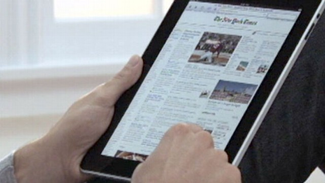 VIDEO: Apples newest technology to replace paper documents at airlines.