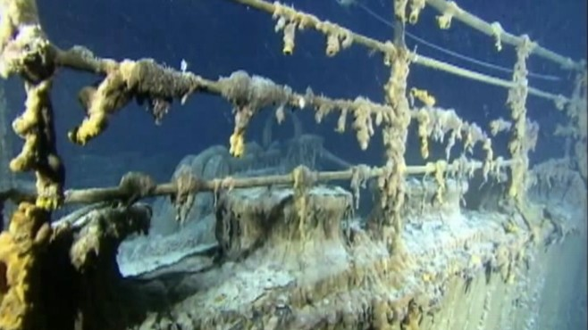Video: First 3D pictures of the Titanic released.