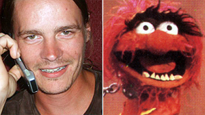"PHOTO Micah Pruett, left, says he has been told he resembles Animal from ""The Muppet Show,"" shown in this file photo, right."