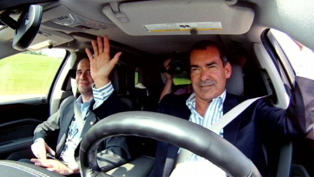 PHOTO: Driverless car