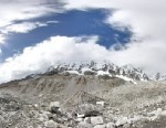 PHOTO:A shot of an Everest Base Camp from Google Maps.