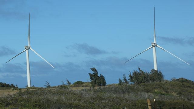 PHOTO:Kahuku Wind Farm, Oahu, Hawaii, 2012