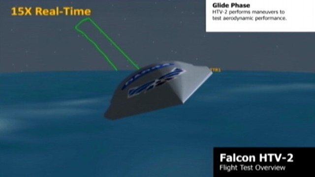 VIDEO: Defense Department animation shows plane meant to go 13,000 mph.