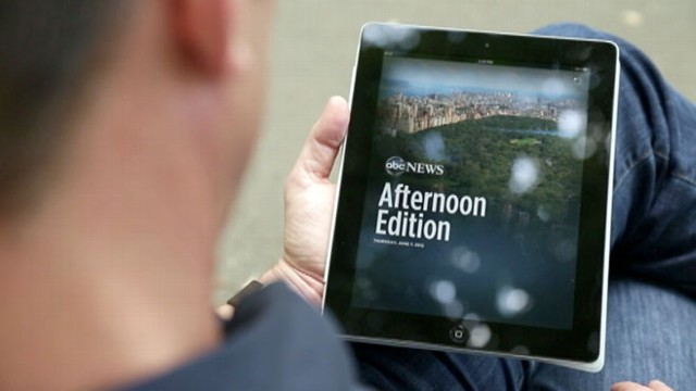 VIDEO: Bill Weir Takes New iPad App on Tour