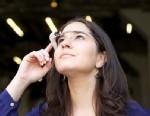 PHOTO: ABC News Tech Editor Joanna Stern wears Google Glass.