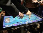 PHOTO: Lenovos 27-inch IdeaCentre lets you play games with multiple people.