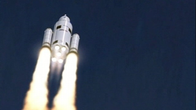 VIDEO: Unmanned test launches of the NASA rocket are expected to happen in six years.