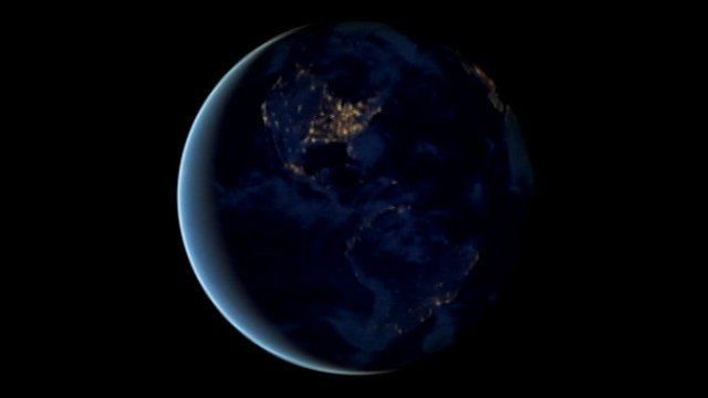 VIDEO: NASA uses satellite images to create animation of planets dark side.