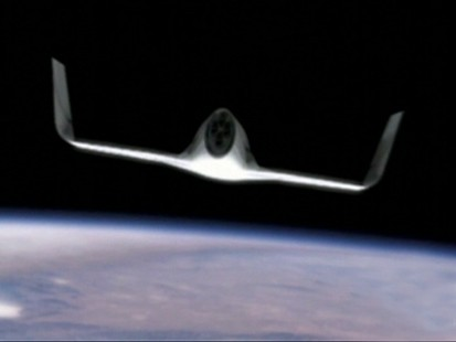 Picture of space craft.