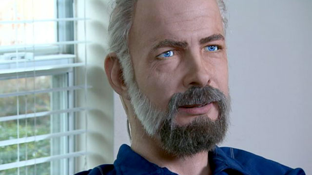 PHOTO: Built by Hanson Robotics, Philip K. Dick Andriod is a state-of-the-art robot with a large vocabulary, complex facial expressions, a sense of humor and something of an ego.