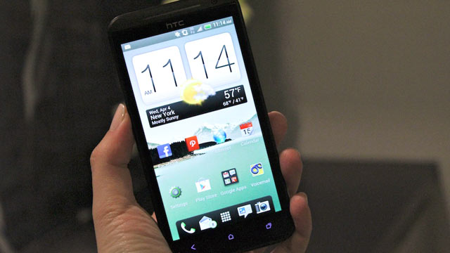 PHOTO: Sprint?s new EVO 4G LTE smartphone, made by HTC.