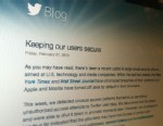 """PHOTO:Twitter says """"extremely sophisticated"""" hacker attack accessed user names, email addresses and passwords."""