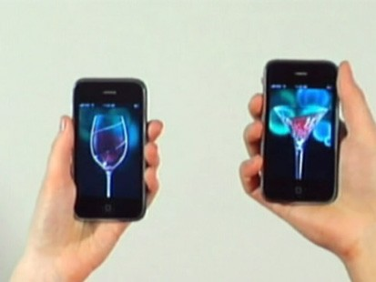 VIDEO: Waterfords Clink-Clink application lets you enjoy a toast without drinking.