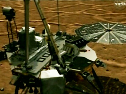 Picture of the Mars Rover.