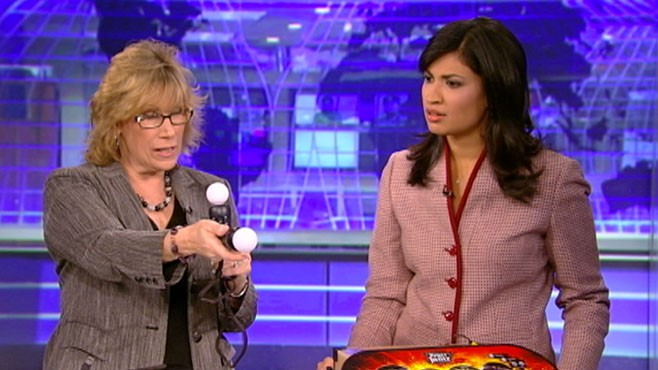 VIDEO: Andrea Smith with video game gift ideas to keep you active and smiling.