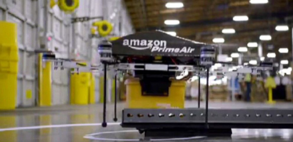 The company sent a formal request to take its fleet of delivery drones on test runs in the Seattle area.