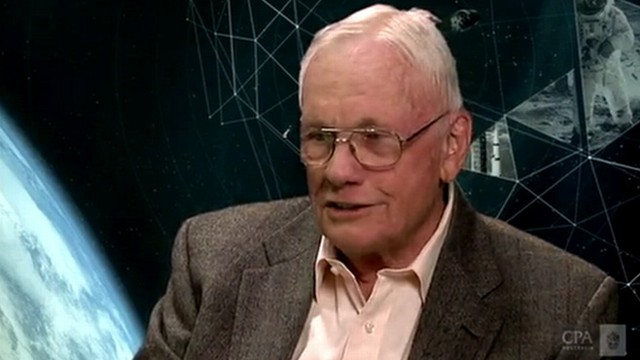Neil Armstrong Gives Rare Interview Video - ABC News