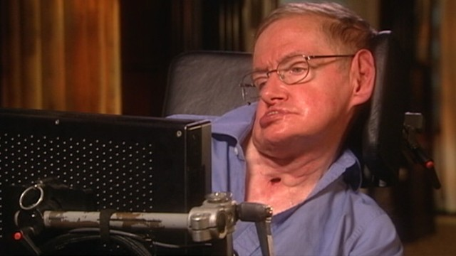 VIDEO: Famed physicist immobilized by ALS is known for theories about the universe.