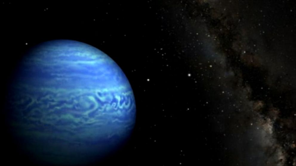 "VIDEO: The newly-discovered ""brown dwarf"" star is as cold as the North Pole."