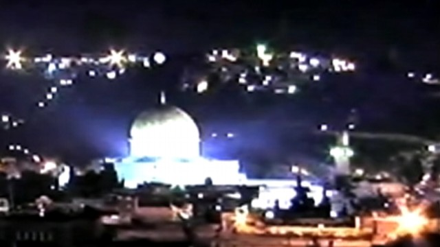 VIDEO: Tourist shoots glowing object hovering over Jerusalem's Dome of the Rock