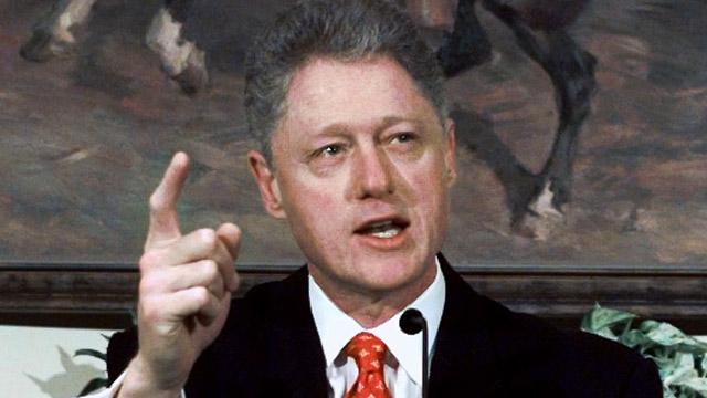 PHOTO: Bill Clinton