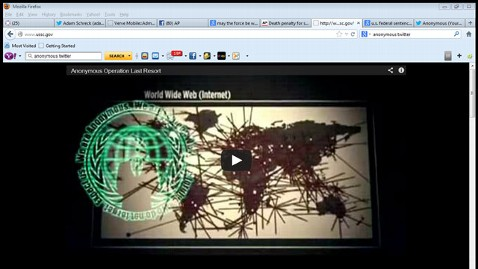 ap commission website hacked 130126 wblog Anonymous Hijacks Federal Website, Threatens DOJ Document Dump