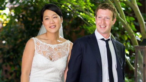 ap facebook mark zuckerberg pricsella chan married ll 120519 wblog Mark Zuckerberg Marries Priscilla Chan