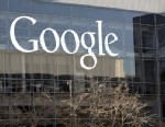 PHOTO: This Jan. 3, 2013, photo shows a Google sign at the companys headquarters in Mountain View, Calif. Google is pledging to license hundreds of key patents to mobile computing rivals under more reasonable terms and to curb the use of snippets from ot