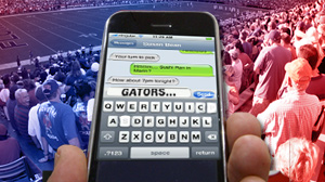 Texting at the Swamp