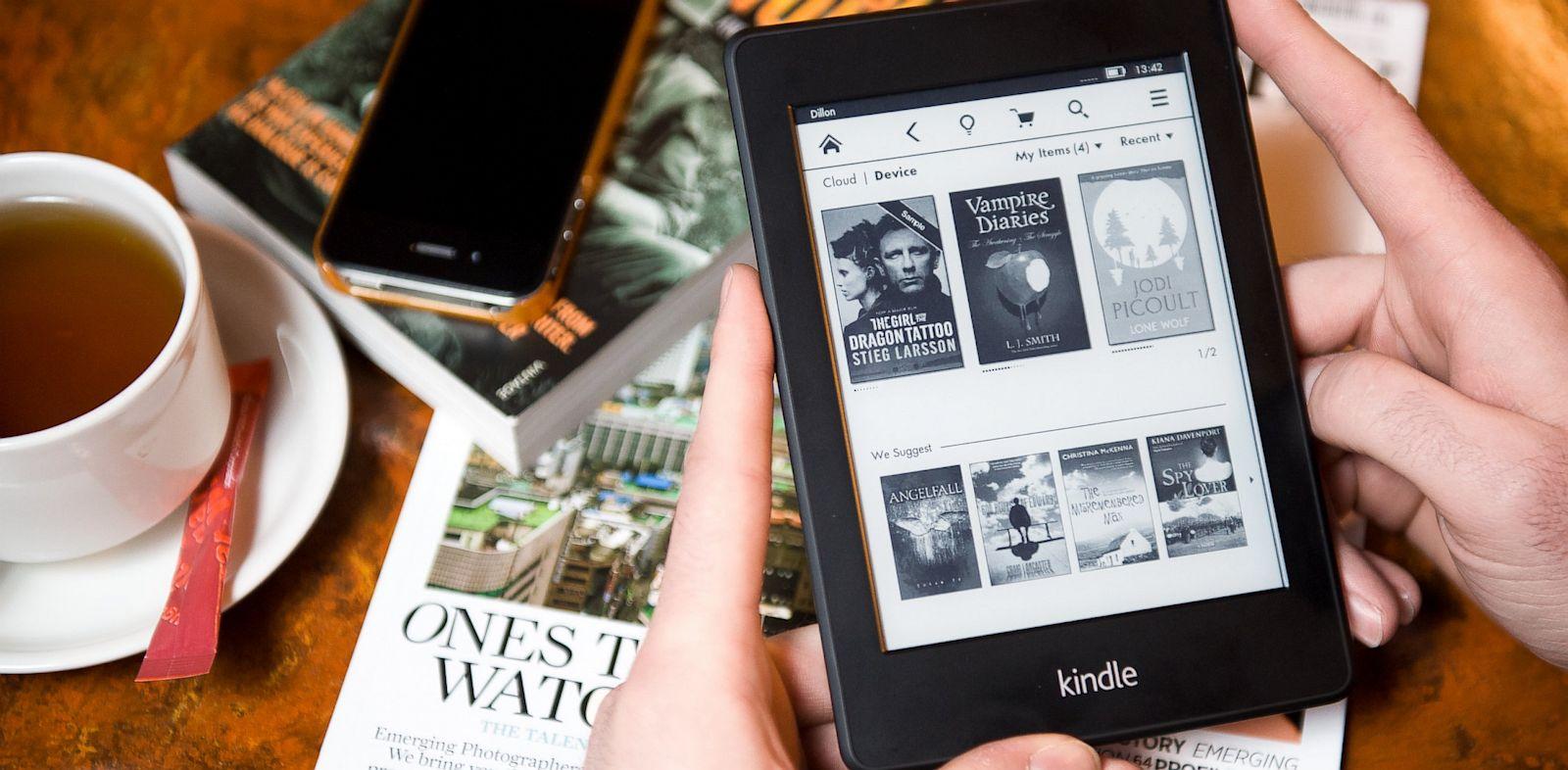 PHOTO: Kindle Paperwhite e-reade
