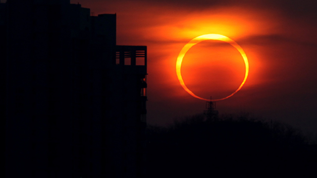PHOTO: Annular solar eclipse