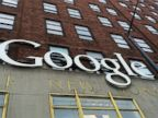PHOTO: A Google sign hangs on their headquarters, May 21, 2014, in New York.