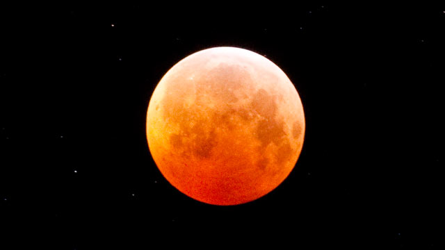 PHOTO: A lunar eclipse seen from, Truckee, California, Dec. 21, 2010.