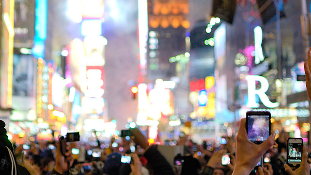 PHOTO: New Years Eve resolutions can include technology changes too.