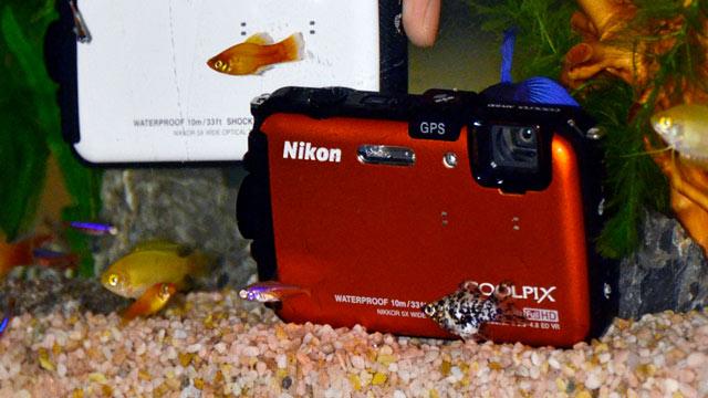 PHOTO: Nikon Coolpix AW100