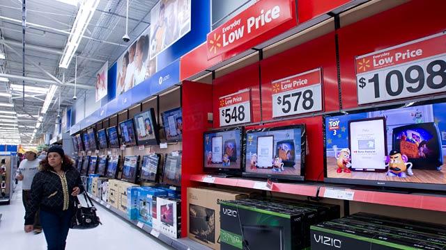 PHOTO: Shopper in Walmart