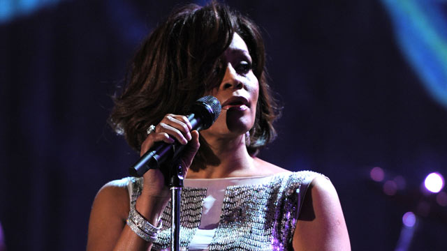 PHOTO: Whitney Houston performs onstage at the 2011 Pre-Grammy Gala and Salute To Industry Icons Honoring David Geffen at Beverly Hilton, Feb. 12, 2011 in Beverly Hills, California.