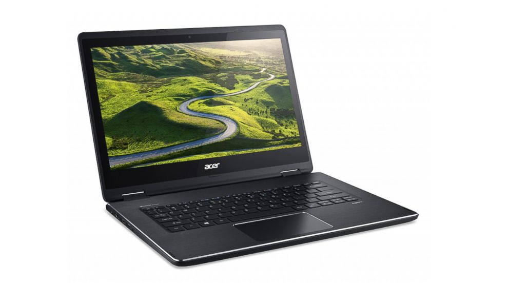 PHOTO: A photo of The Acer Aspire R 14 laptop.