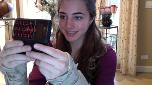 Annie Levitz got carpal tunnel from texting.