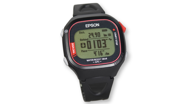 PHOTO: Epson's lightest GPS-enabled running monitor