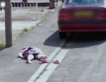 Google Image Shows Dead Girl Lying Face Down on the Street