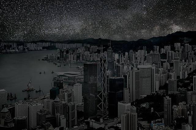ht Hong Kong 5 20 darkened skies ll 130307 wblog Darkened Cities: The Night Sky You Dont See