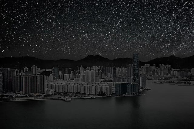 ht Hong Kong H 20 darkened skies ll 130307 wblog Darkened Cities: The Night Sky You Dont See