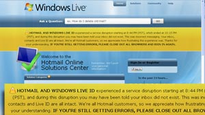 Mystery Outage: Wheres My Hotmail?
