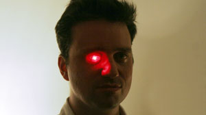 Filmmaker Rob Spence want to replace prosthetic eye with wireless camera