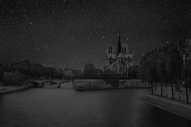 ht PARIS NDAME0 darkened skies ll 130307 wblog Darkened Cities: The Night Sky You Dont See