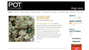 High Time? Websites Give Cannabis a Classy New Look